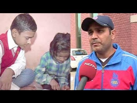 Virender Sehwag turns philanthropist; bats for education
