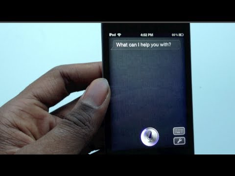 How To Install Sara Siri Clone For iPhone 4.3GS.3G.iPod Touch.iPad.iPad 2 On IOS 5/5.0.1