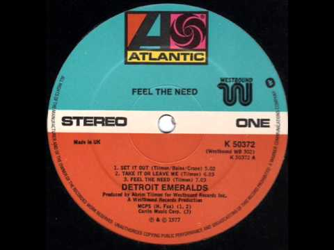DETROIT EMERALDS  Feel the need ('77 LP Version)