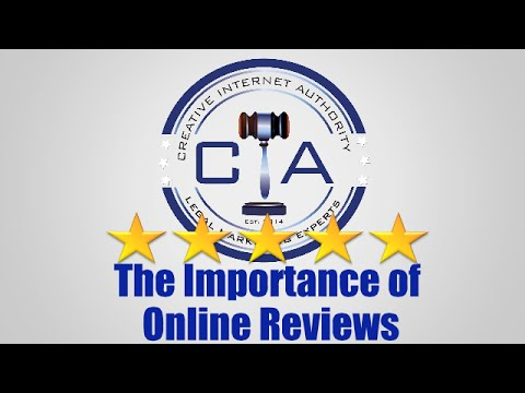 Legal Marketing: The Importance of Online Reviews