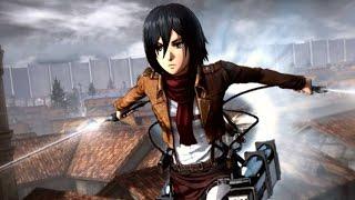 ATTACK ON TITAN: Wings of Freedom (PC) - MIKASA ES ALUCINANTE