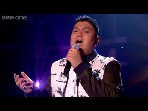 The Voice UK 2013 | Joseph Apostol performs 'End Of The Road' - The Live Semi-Finals - BBC One