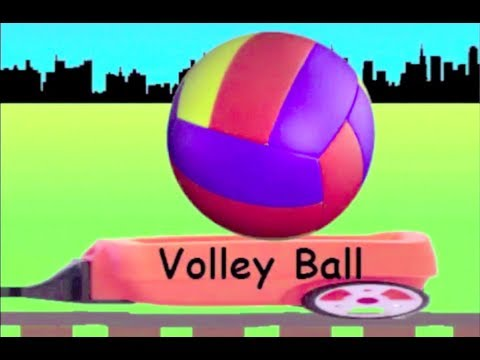 Learn Ball Train - learning ball types for kids