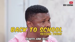 Bovi Back To School Series (Second Term)June edition