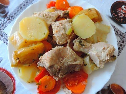 Готовим вкусное узбекское блюдо Дымлама.