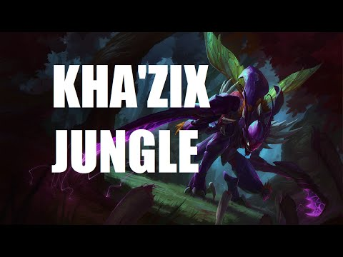 League of Legends Ranked - Kha'Zix Jungle - Full Game Commentary