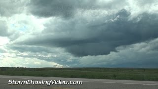 5/22/2015 Eastern, CO Wall Cloud and Hail B-Roll