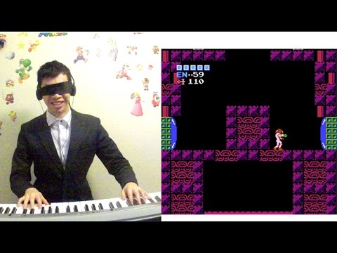 Metroid - Ridley's Lair Performed Blindfolded by Video Game Pianist™