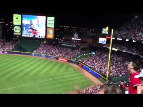 Braves fans react to infield fly
