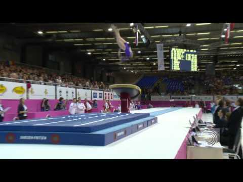 European Championships Brussels 2012, Aliya MUSTAFINA (RUS) Vault