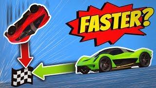 GTA 5 - FALLING CAR vs DRIVING CAR