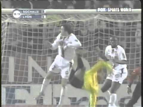 2005 (January 12) Sochaux 0 -Olympique Lyonnais 2 (French Ligue 1)
