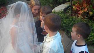 lil kids wedding (cute!)