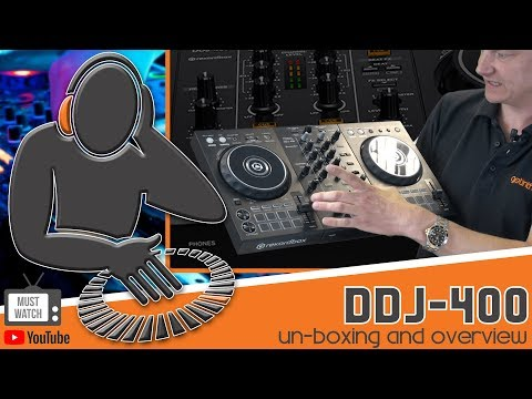 THE BEST PIONEER DDJ-400 UNBOXING VIDEO ON THE NET!!