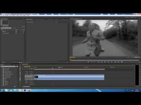 Tutorial Adobe Premiere Pro CS6 - Efecto Stop Motion a partir de un Video (Tiempo de posterización)