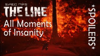 """All Insanity moments in """"SPEC OPS: THE LINE"""" (+Survival Ending)"""
