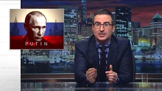 Putin Last Week Tonight with John Oliver HBO