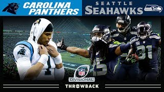 Legion of Boom DOMINATES! (Panthers vs. Seahawks 2014 NFC Divisional)
