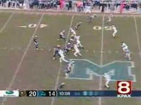 University of Montana VS Montana State 2007 highlights Video