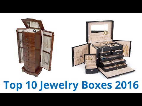 10 Best Jewelry Boxes 2016