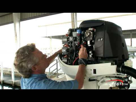 Evinrude E-TEC 300 H.P. Engine Features Reviews - By BoatTest.com