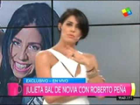 Julieta Bal cumplió años y confesó que está de novia con Roberto Peña
