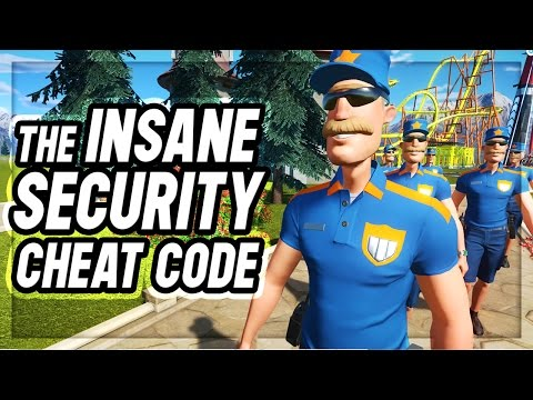 Planet Coaster : SECURITY MAYHEM CHEAT CODE?!