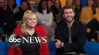 Rebel Wilson and Liam Hemsworth talk marriage, dating, and all things rom-com | GMA