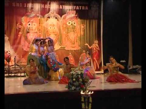 ISKCON Avataridesh Sri Jagannath Ratha Yatra Dance 2012
