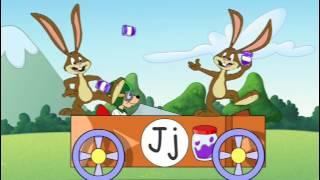 Reader Rabbit and the Alphabet Race