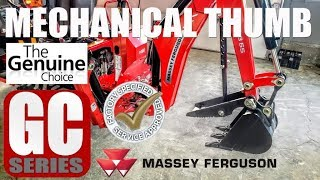 Massey Ferguson Genuine Accessory: Mechanical Thumb for GC Series with CB65 Backhoe