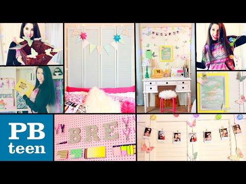 DIY PB Teen Inspired Room Decor! | Easy & Cheap Dollar Store DIYS! | Spice Up Your Boring Room!