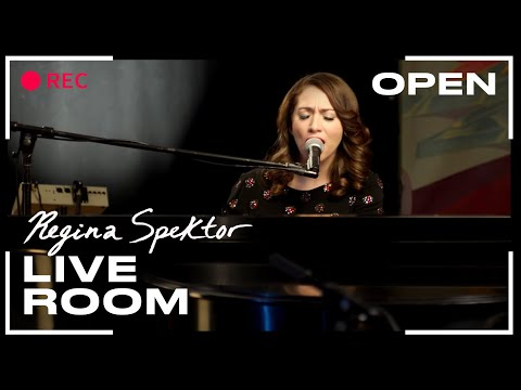 "Regina Spektor - ""Open"" captured in The Live Room"