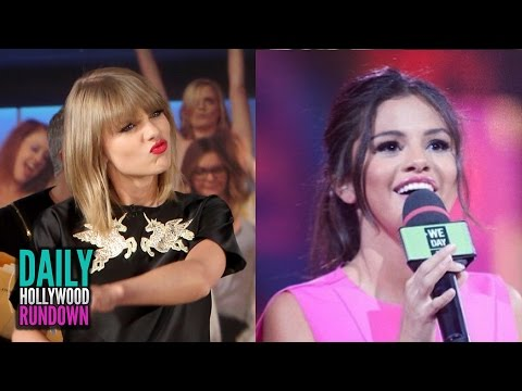 Taylor Swift Afraid Of Being Framed For Murder! - Selena Gomez's Near Emotional We Day Speech? (DHR)