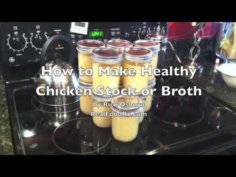 How to Make Chicken Stock & Broth