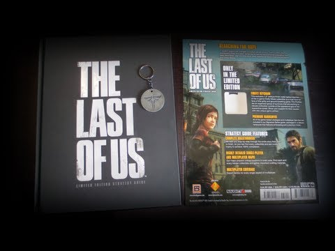 The Last of Us Limited Edition Strategy Guide Review Unboxing