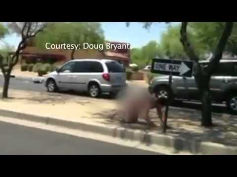 VIDEO: Naked driver creates havoc in Scottsdale