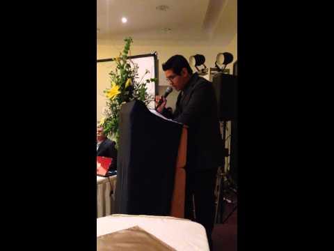 Golden English Delicias Speech del Alumno Luis Mauricio Carnero Moncayo. 7th Graduation.