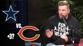 Pat McAfee's Thoughts on Cowboys vs. Bears
