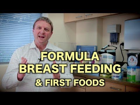 Formula, Breast Feeding, & First Foods (Pediatric Advice)