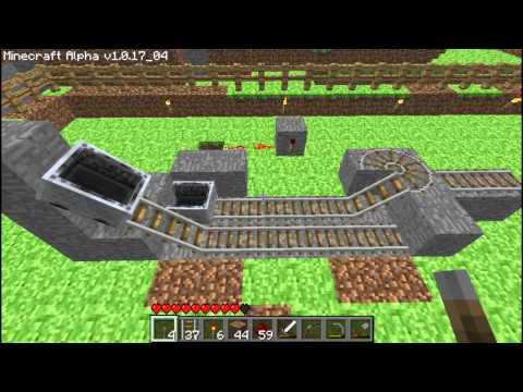 Bob's Minecart Tutorial 3: Advanced Minecart Stations