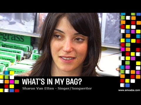 Sharon Van Etten - What's In My Bag?