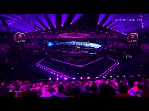The Shin and Mariko - Three Minutes to Earth (Georgia) 2014 LIVE Eurovision Second Semi-Final