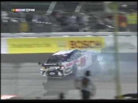 Kyle Busch Wrecks Dale Jr.(Richmond) Video