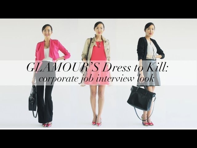 What to Wear to Work- Glamour Dress to Kill