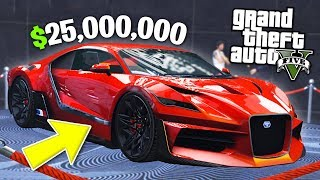 GTA 5 Casino DLC $25,000,000 Spending Spree! (GTA 5 Casino DLC New Cars)