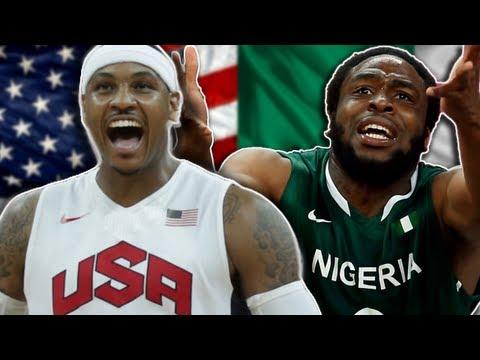 USA vs NIGERIA Basketball! SMASHING RECORDS! Olympic Recap for TEAM USA | Invade London
