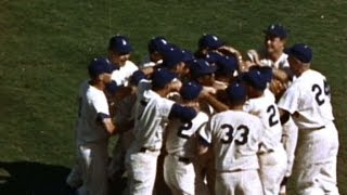 WS1963 Gm4: Dodgers sweep Yankees in 63 Series