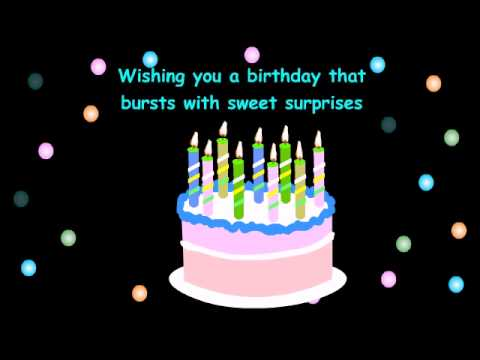 birthday greetings free app for your android phone youtube