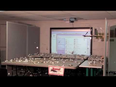 Nuclear Fission Chain Reaction.mov (Mouse Traps and Ping Pong Balls)